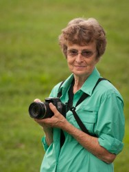Photographer Betty Hall